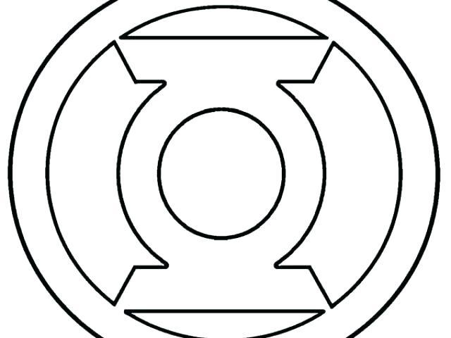 green lantern logo drawing at getdrawings  free download