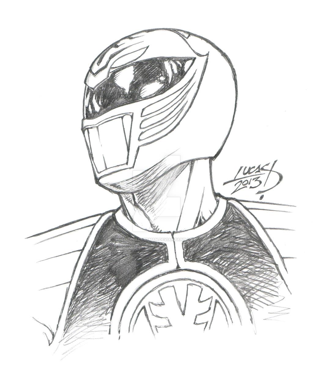 Green Power Ranger Drawing At Getdrawings