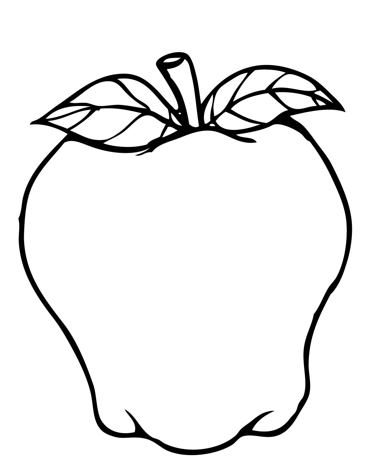 Half Apple Drawing At Getdrawings