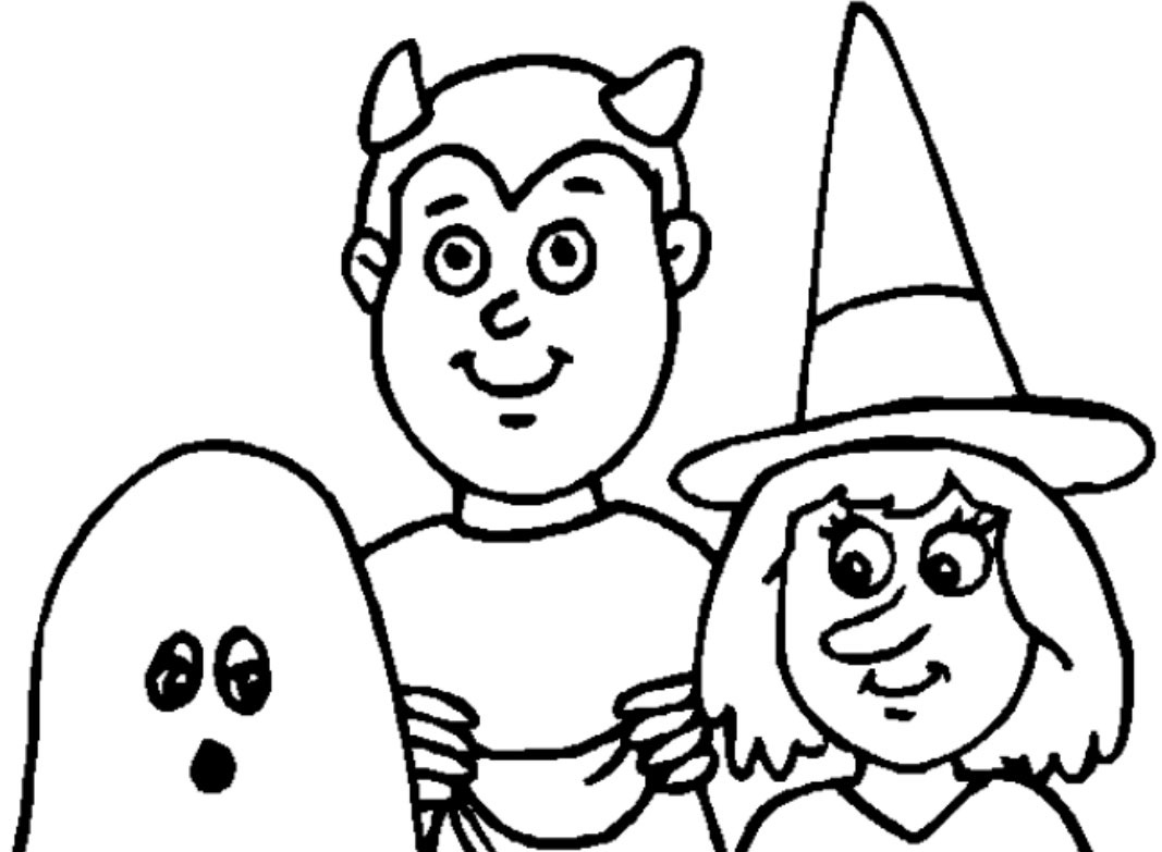 Halloween Drawing Pages At Getdrawings
