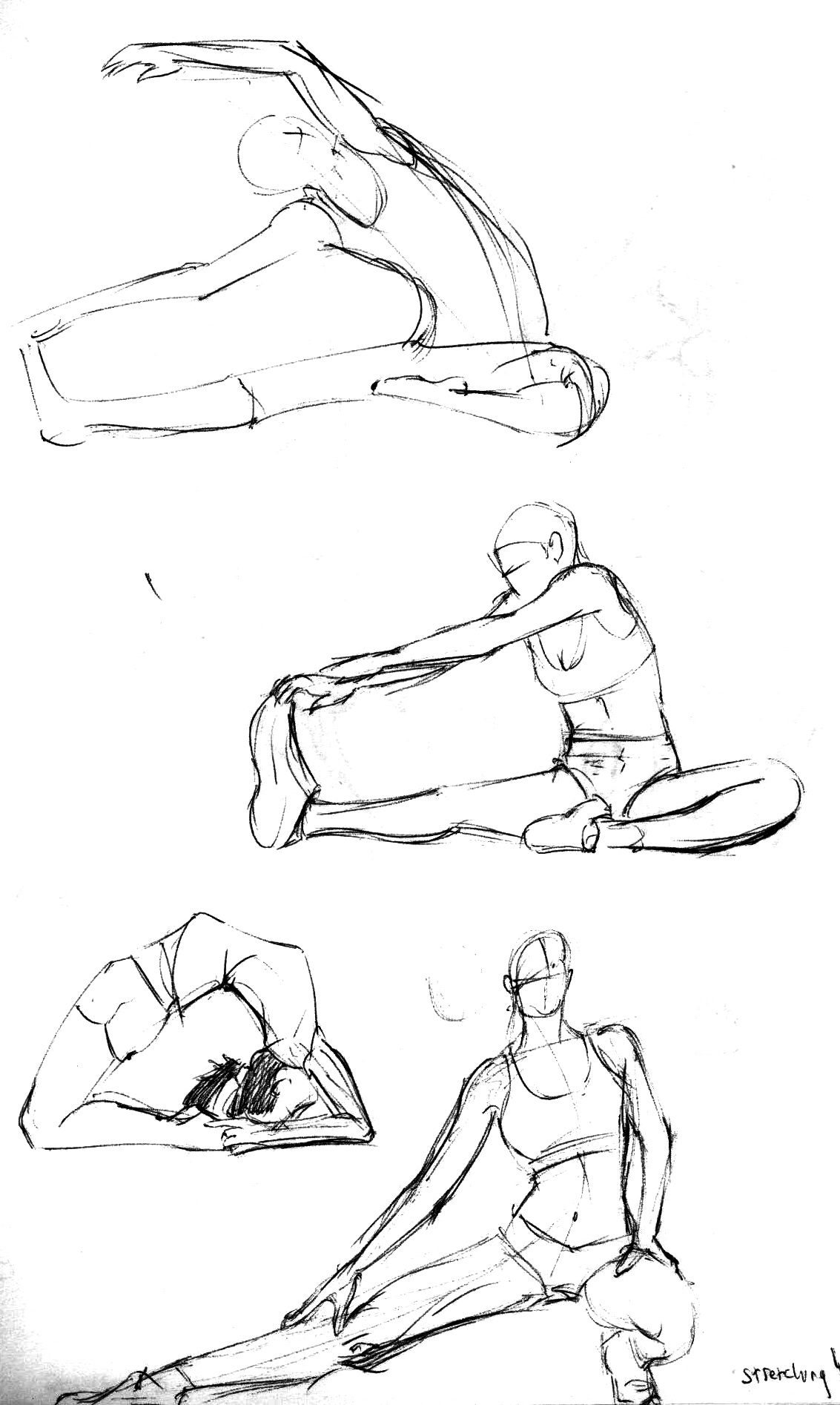 The best free Stretching drawing images. Download from 51