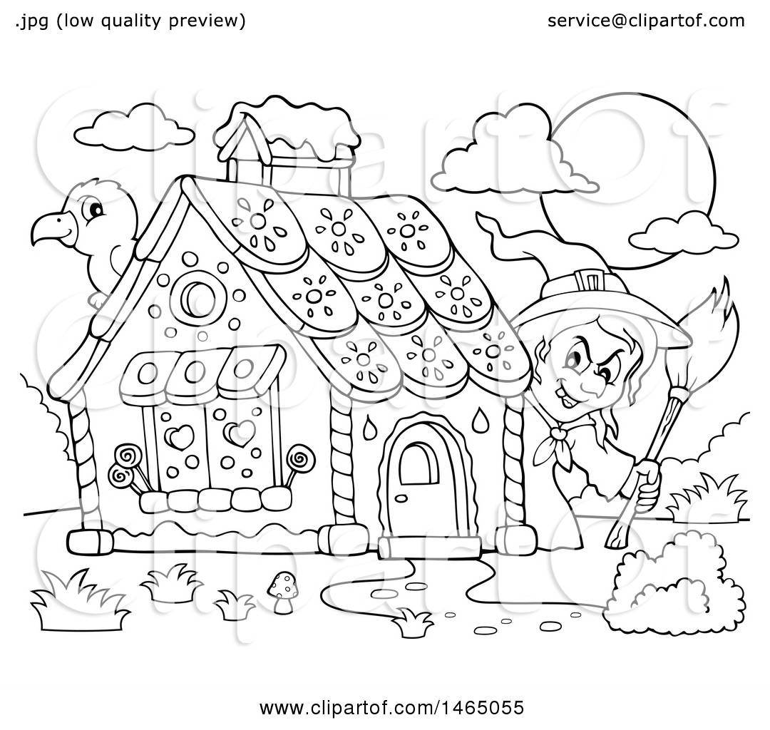 Hansel And Gretel Drawing At Getdrawings