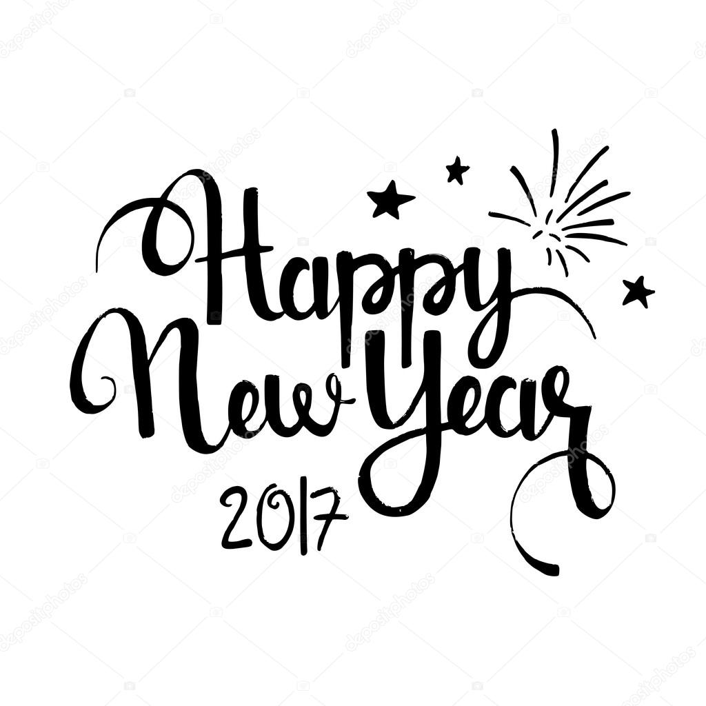 Happy New Year Drawing At Getdrawings