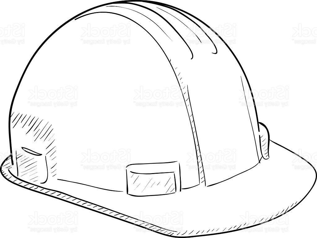 Hard Hat Drawing At Getdrawings