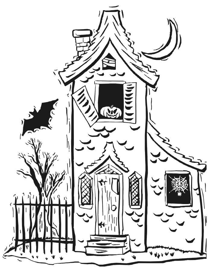 Spooky House Drawing : spooky, house, drawing, Haunted, Mansion, Drawing, GetDrawings, Download