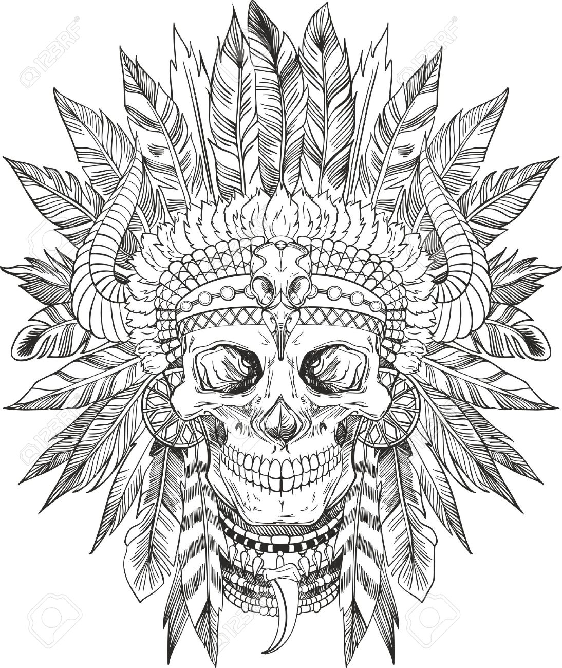 hight resolution of 1094x1300 headdress clipart cherokee indian