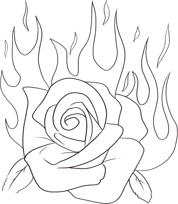 Tattoo Flower Drawing At Getdrawings Com