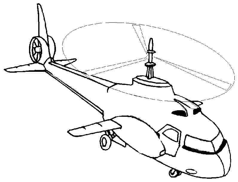 Helicopter Drawing Images At Free For