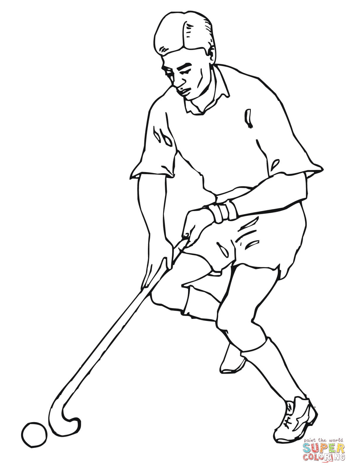Hockey Players Drawing At Getdrawings