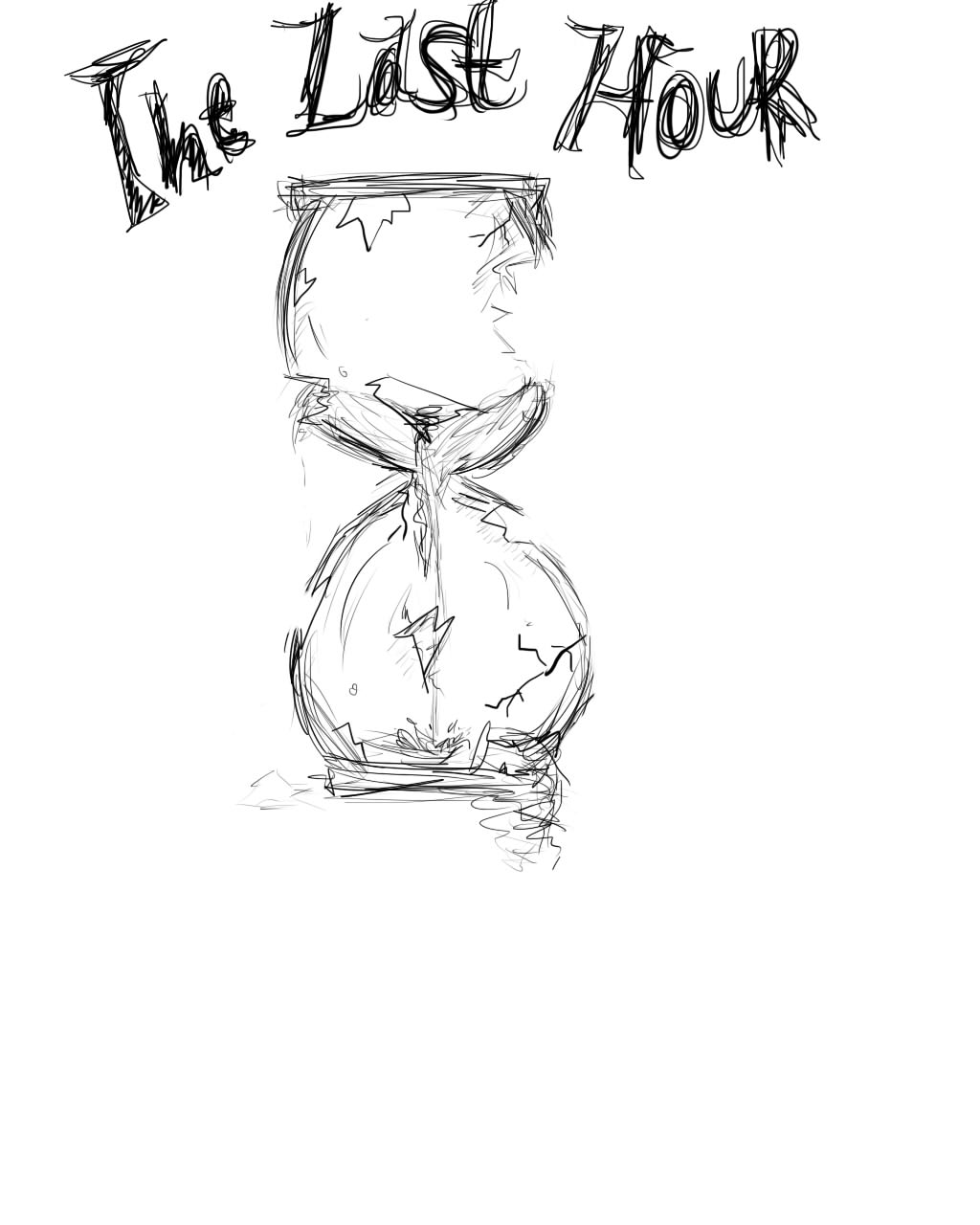 Hour Glass Drawing At Getdrawings