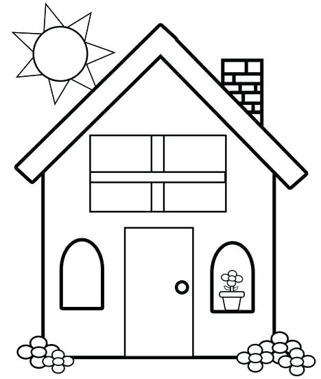 House For Kids Drawing at GetDrawingscom Free for