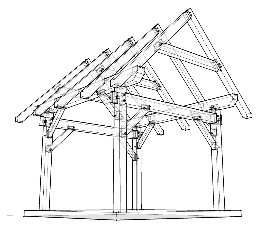 House Roof Drawing At Getdrawings