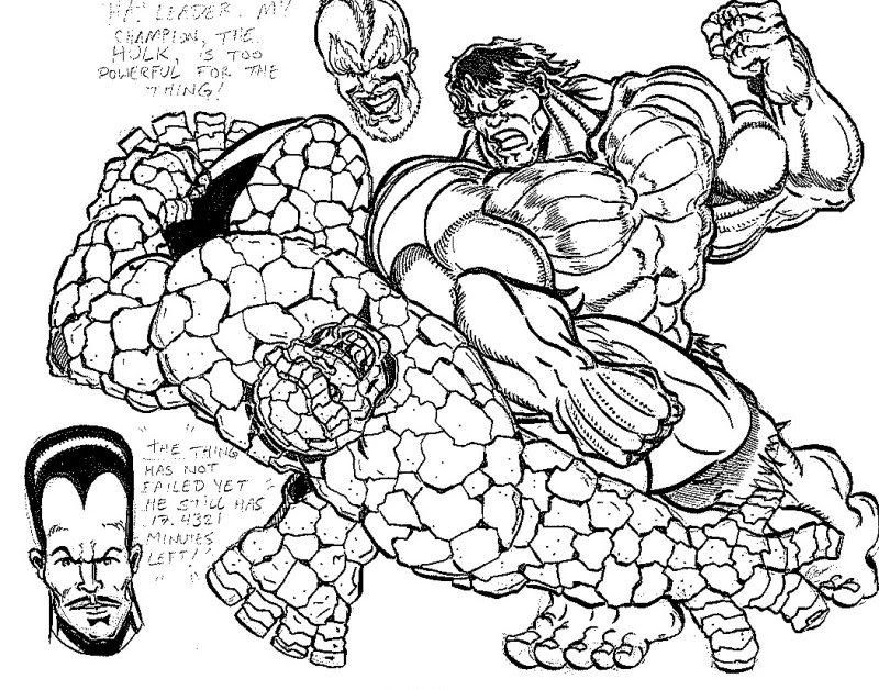 Hulk Drawing At Getdrawings Com