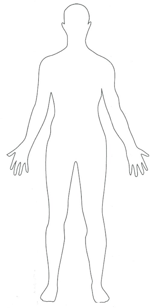 The best free Body outline drawing images. Download from