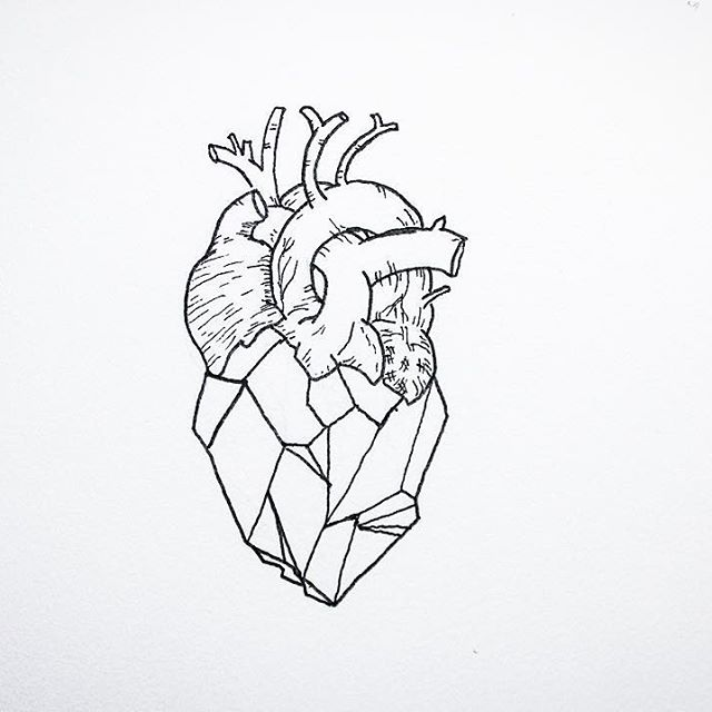 Human Heart Tattoo Designs