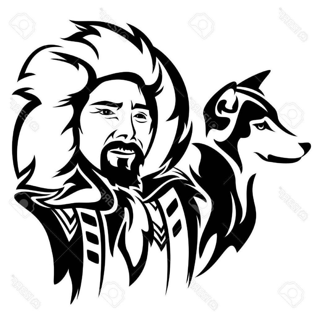 Husky Dog Drawing At Getdrawings