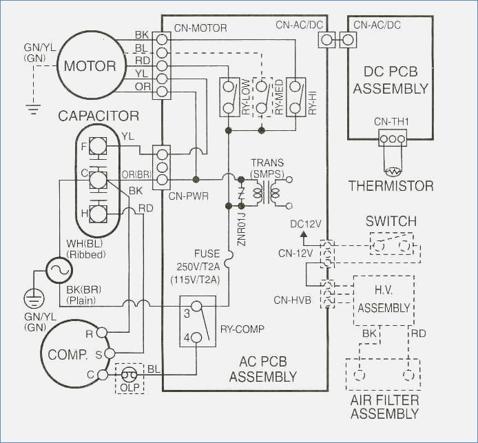 Wiring Diagram Symbols Hvac / HVAC Reading air conditioner