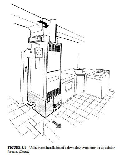 hvac duct drawing for house