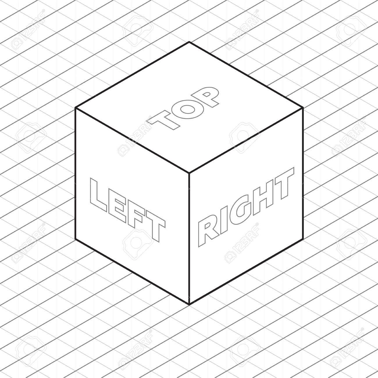 Isometric Cube Drawing At Getdrawings