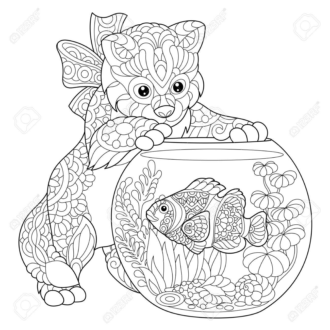 The Best Free Aquarium Drawing Images Download From 194