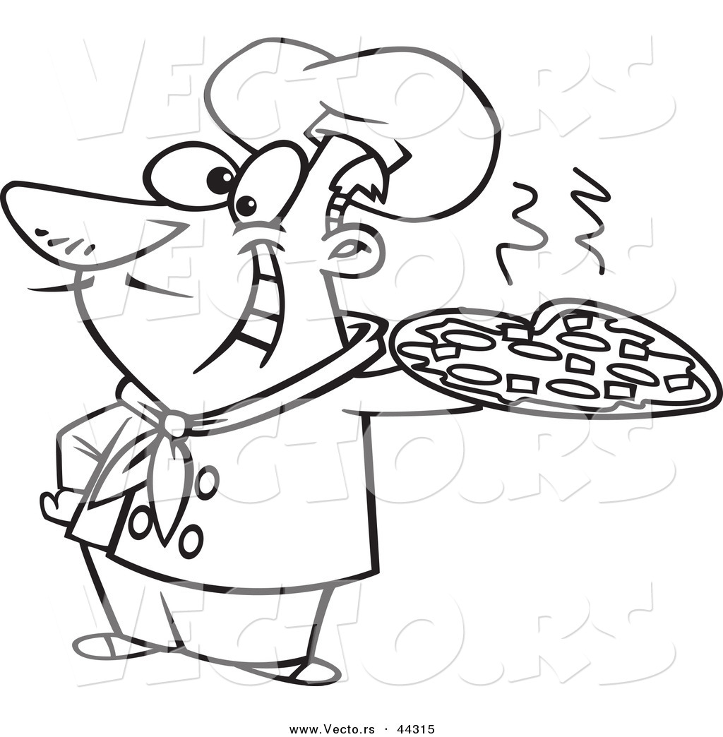 Italian Chef Drawing At Getdrawings