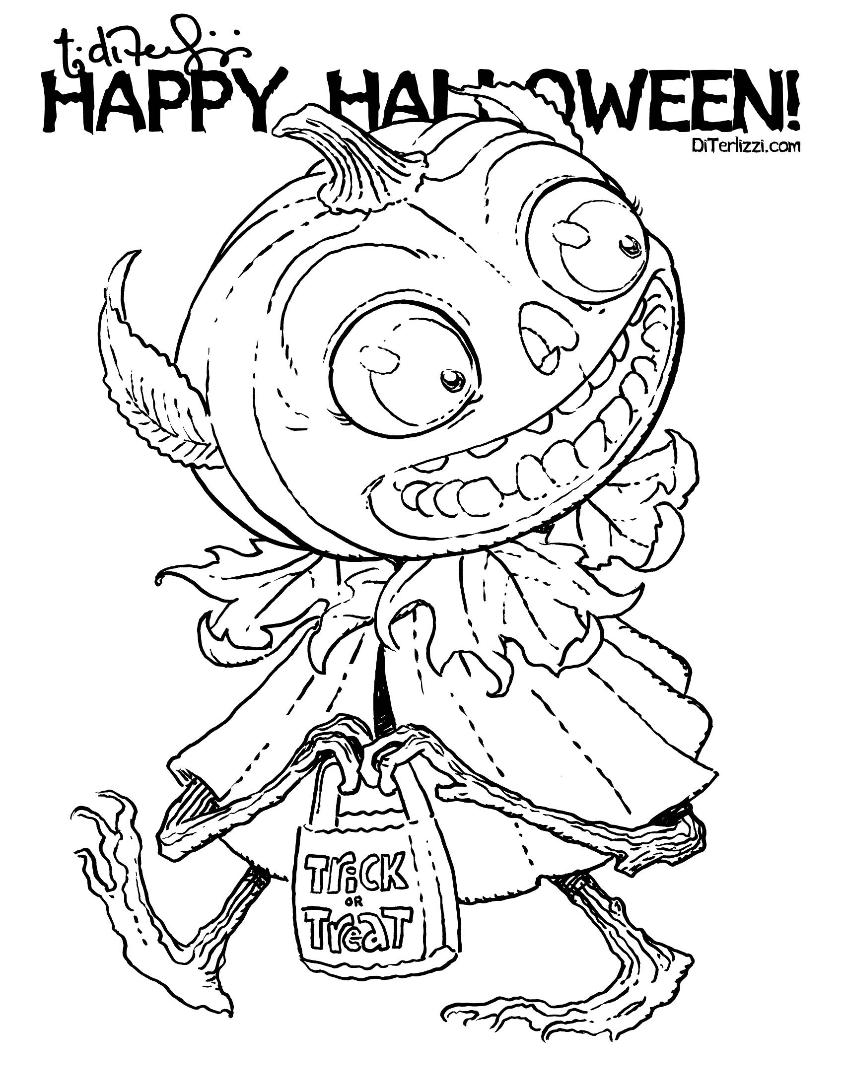 Jack O Lantern Drawing At Getdrawings