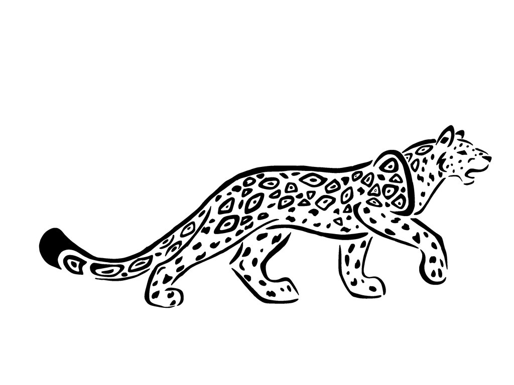 Jaguar Animal Drawing At Getdrawings