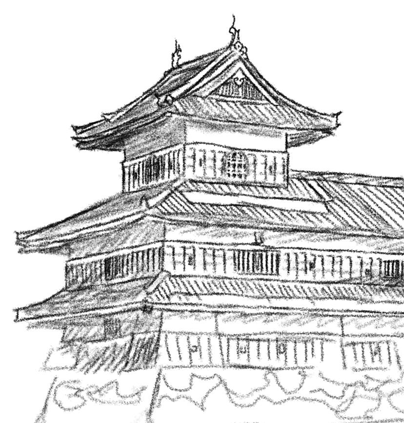 Chinese Pagoda Drawing At Getdrawings Com