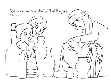 elijah and the widow woman coloring pages auto Daewoo Sedan