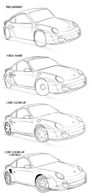 jdm drawing cars comic drawings getdrawings