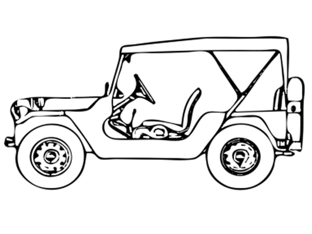 48 Gambar Mewarnai Mobil Jeep Terpopuler Lingkar Png
