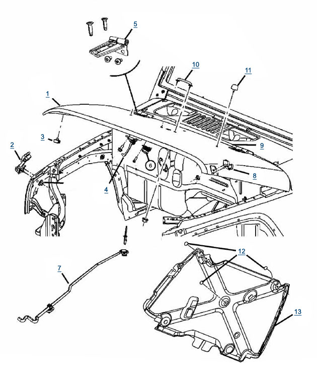 1999 Jeep Wrangler Sport Parts Diagram • Wiring Diagram