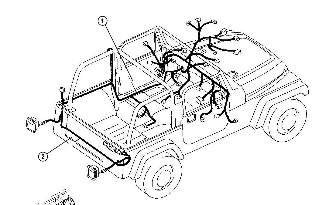 2004 Jeep Grand Cherokee Door Wiring Harness Diagram