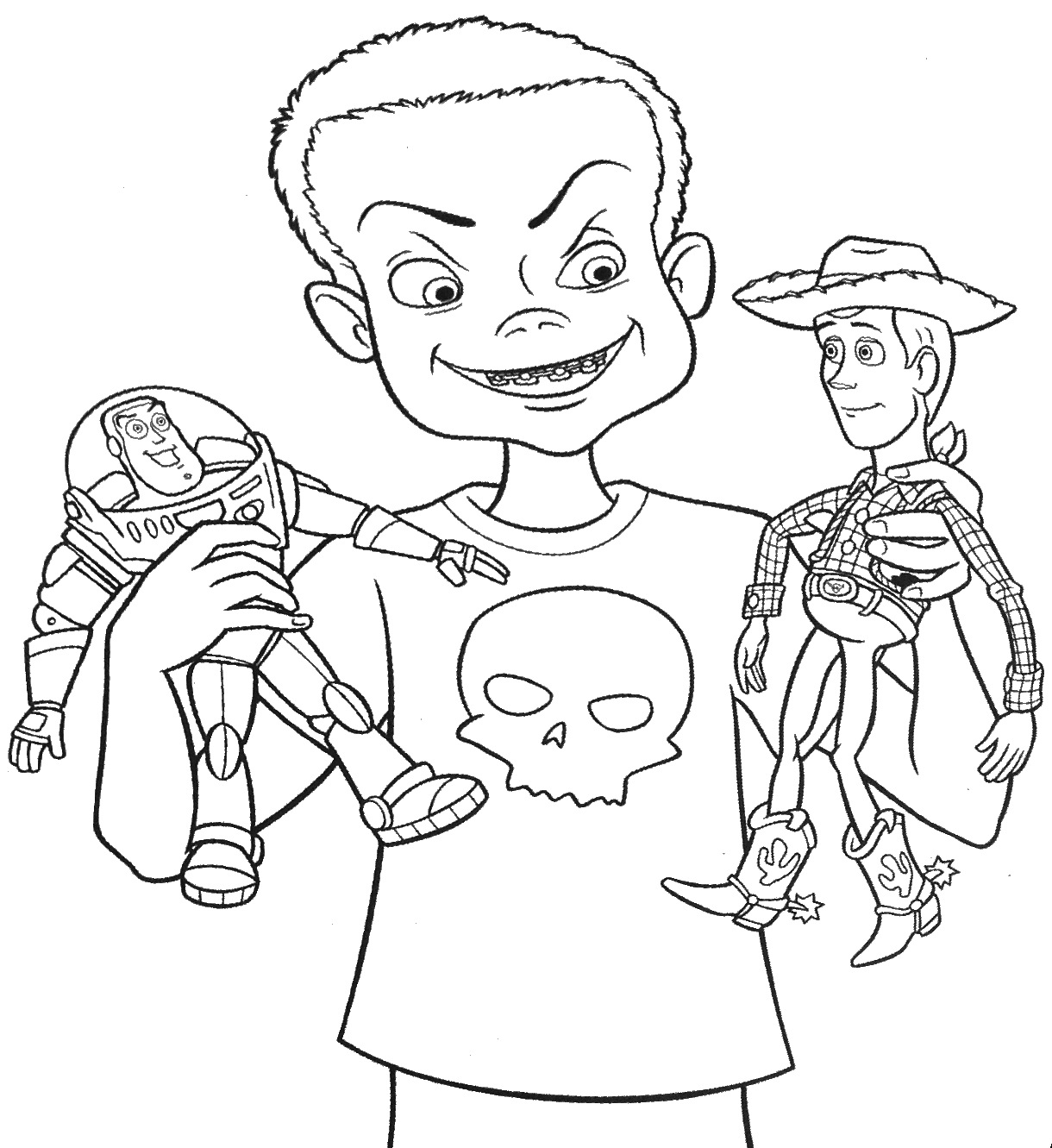 Jessie Toy Story Drawing At Getdrawings