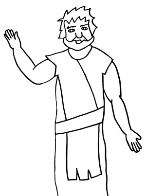 jesus baptist john baptism lds clipart drawing simple cartoon cupboard hubbard song easy getdrawings drawings clip clker pluspng rating