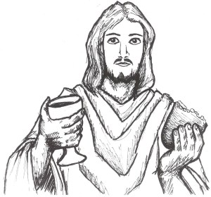 supper jesus easy last mass drawing lord getdrawings collect