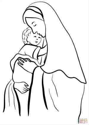 jesus drawing step easy getdrawings