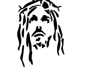 jesus tattoo drawing simple getdrawings
