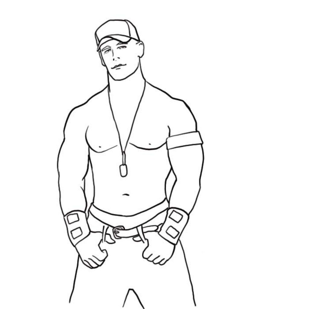 John Cena Drawing At Getdrawings