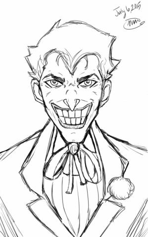 joker drawing getdrawings serious why