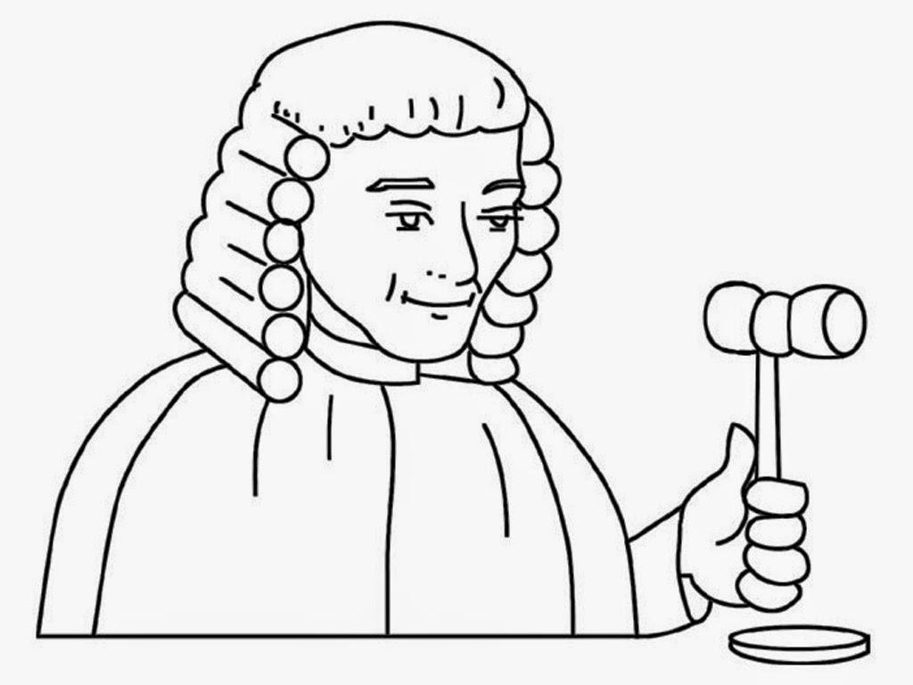 Judge Mallet Drawing At Getdrawings