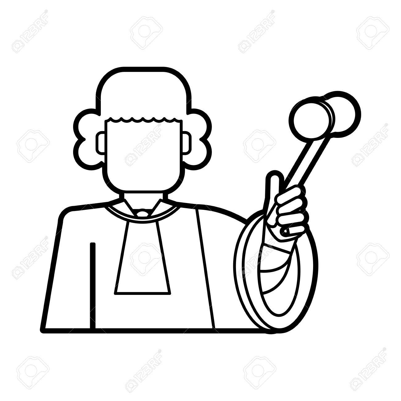 Judges Gavel Drawing At Getdrawings