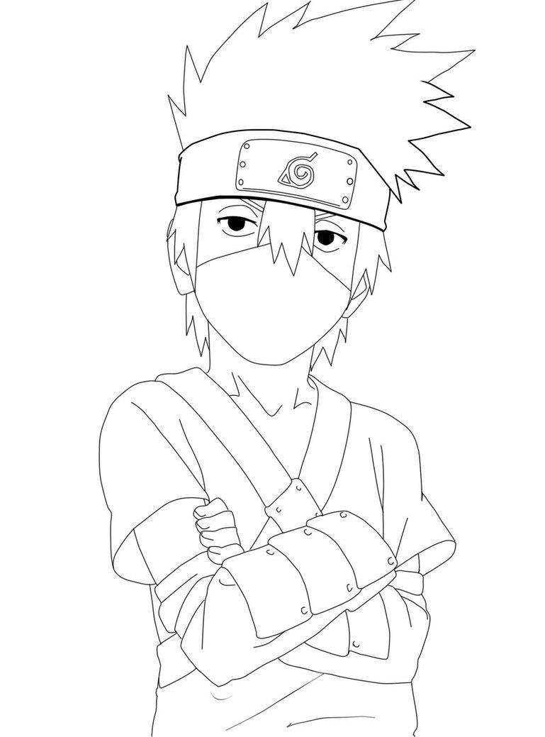 kakashi drawing at getdrawings  free download