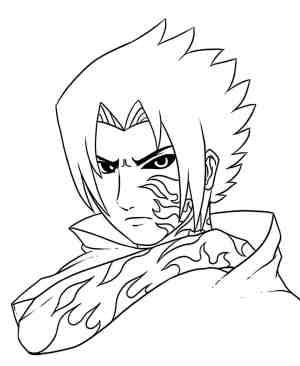 easy drawing kakashi naruto anime getdrawings