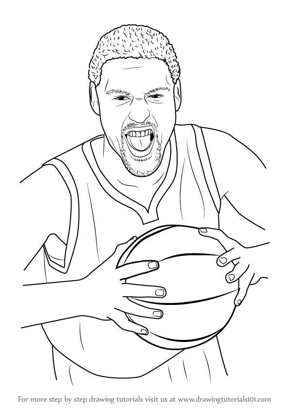 How To Draw Kevin Durant : kevin, durant, Kevin, Durant, Drawing, GetDrawings, Download