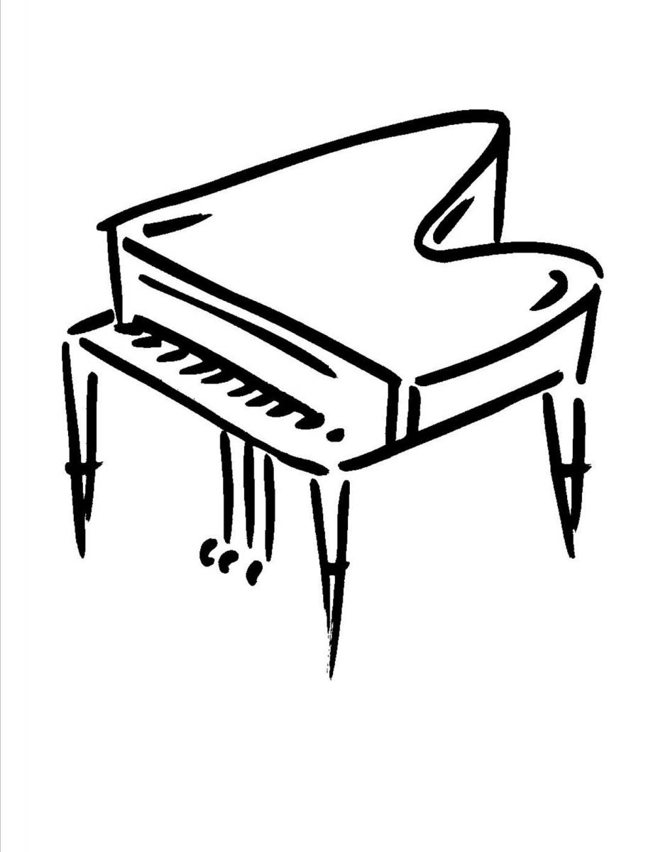 The best free Pianos drawing images. Download from 38 free