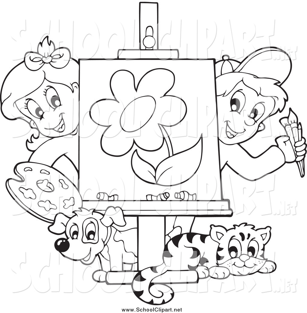 Kids Drawing Clipart At Getdrawings