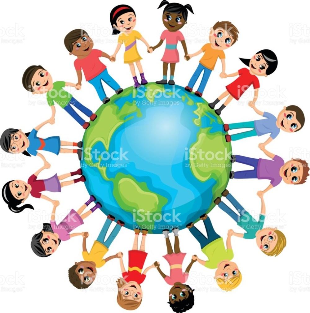 medium resolution of 1011x1024 human clipart kid around world