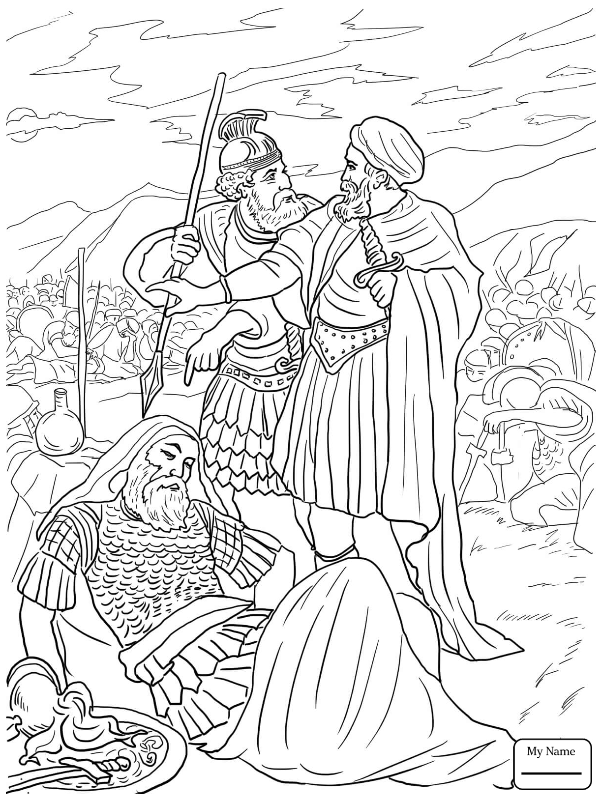 King David lesson for kids King david Ark and Sunday school
