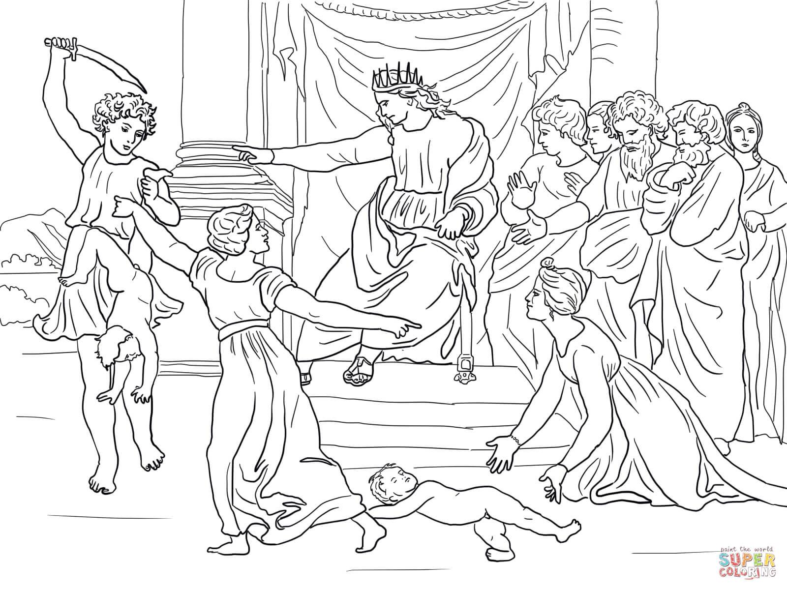 King Solomon Drawing At Getdrawings